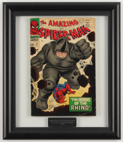 "1966 ""The Amazing Spider-man"" #41 12.25x14.25 Framed Marvel Comic Book Display"