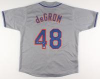 Jacob deGrom Signed Jersey (Beckett COA)
