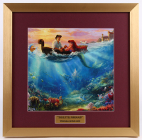 "Thomas Kinkade Walt Disney's ""The Little Mermaid"" 17.5x18 Custom Framed Print Display"