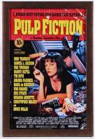 """Pulp Fiction"" 12.5x18.5 Custom Framed Movie Poster Display"