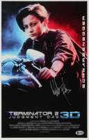 "Edward Furlong Signed ""Terminator 2: Judgment Day"" 11x17 Movie Poster (Beckett COA) at PristineAuction.com"