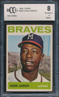 1964 Topps #300 Hank Aaron (BCCG 8) at PristineAuction.com