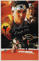 "Ralph Macchio Signed ""The Karate Kid"" 11x17 Movie Poster Inscribed ""Karate Kid"" (Legends COA) at PristineAuction.com"