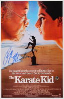 "Ralph Macchio Signed ""The Karate Kid"" 11x17 Movie Poster (Legends COA) at PristineAuction.com"