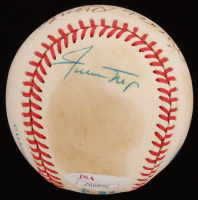 Mickey Mantle, Willie Mays & Duke Snider Signed OAL Baseball (JSA LOA) at PristineAuction.com