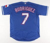 Ivan Rodriguez Signed Texas Rangers Jersey (PSA COA)