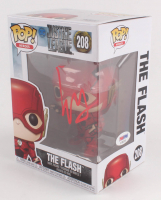 "Ezra Miller Signed ""Justice League"" The Flash #208 Funko Pop Figure (PSA Hologram) at PristineAuction.com"