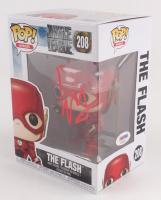 """Ezra Miller Signed """"Justice League"""" The Flash #208 Funko Pop Figure (PSA Hologram)"""