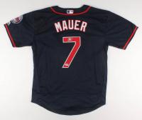 Joe Mauer Signed Minnesota Twins Jersey (PSA Hologram)