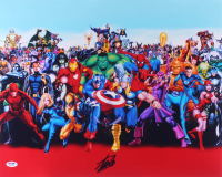 "Stan Lee Signed ""Marvel"" 16x20 Photo (PSA COA) at PristineAuction.com"