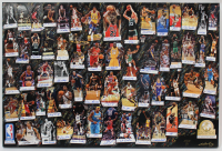 """NBA Legends"" 40x60 Original Cut Collage on Canvas Signed by (61) with Michael Jordan, LeBron James, Allen Iverson, Magic Johnson (Legends of Basketball COA)"
