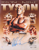 Mike Tyson Signed LE 16x20 Photo (PSA COA) at PristineAuction.com