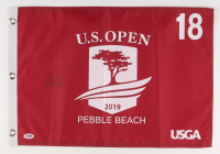 Matt Kuchar Signed 2019 U.S. Open Pin Flag (PSA COA)