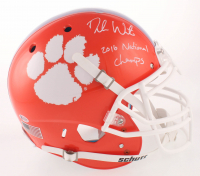 "Deshaun Watson Signed Clemson Tigers Full-Size Authentic On-Field Helmet Inscribed ""2016 National Champs"" (Beckett COA)"
