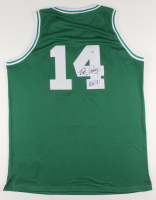"Bob Cousy Signed Boston Celtics Jersey Inscribed ""HOF 71"" (PSA COA) at PristineAuction.com"