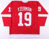 Steve Yzerman Signed Jersey (Beckett COA & Yzerman Hologram)