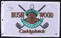 "Chevy Chase Signed ""Caddyshack"" Bushwood Country Club Pin Flag (Beckett COA & Chase Hologram)"