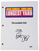 "Adam Sandler Signed ""The Longest Yard"" Movie Script (PSA COA) at PristineAuction.com"