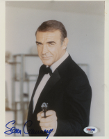 "Sean Connery Signed ""James Bond"" 8x10 Photo (PSA COA)"