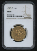 1903-0 $10 Liberty Head Gold Eagle (NGC MS 61) at PristineAuction.com