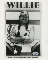 Willie Nelson Signed 8x10 Photo (PSA COA) at PristineAuction.com