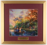 "Thomas Kinkade Walt Disney's ""Pocahontas"" 17.5x18 Custom Framed Print Display"