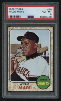 1968 Topps #50 Willie Mays (PSA 8) at PristineAuction.com
