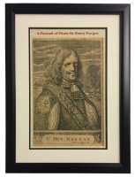 Captain Sir Henry Morgan 16x20 Custom Framed Print Display at PristineAuction.com