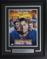 "Adam Sandler Signed ""The Longest Yard"" 16x20 Custom Framed Photo Display (PSA COA) at PristineAuction.com"
