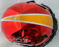 Sammy Watkins Signed Kansas City Chiefs Full-Size Authentic On-Field Chrome Speed Helmet (Beckett COA) at PristineAuction.com