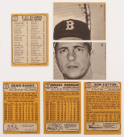 Lot of (18) 1968 Topps Baseball Cards with #20 Brooks Robinson, #4 AL RBI Leaders / Carl Yastrzemski / Harmon Killebrew / Frank Robinson, #103 Don Sutton, #355 Ernie Banks, #364 Joe Morgan All-Star at PristineAuction.com