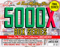 """MYSTERY 5000X SERIES"" A True Sports Card Mystery Box! – FINAL SERIES! at PristineAuction.com"