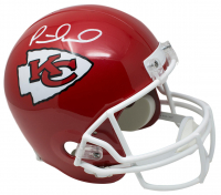 Patrick Mahomes Signed Kansas City Chiefs Full-Size Helmet (JSA COA)