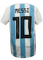 "Lionel Messi Signed Argentina Adidas Jersey Inscribed ""Leo"" (Messi COA) at PristineAuction.com"