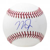 Mike Trout Signed OML Baseball (MLB Hologram) at PristineAuction.com