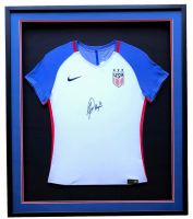 Alex Morgan Signed Team USA 32x36 Custom Framed Nike Jersey Display (JSA COA)