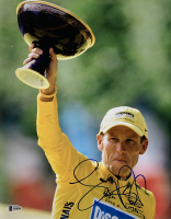 Lance Armstrong Signed Tour De France 11x14 Photo (Beckett LOA) at PristineAuction.com