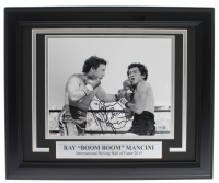 "Ray ""Boom Boom"" Mancini Signed 11x14 Custom Framed Photo Display (Fanatics Hologram)"