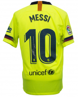 "Lionel Messi Signed Barcelona Nike Jersey Inscribed ""Leo"" (Beckett COA & Messi COA)"