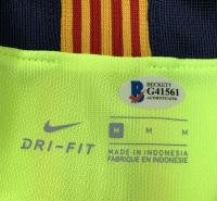 "Lionel Messi Signed Barcelona Nike Jersey Inscribed ""Leo"" (Beckett COA & Messi COA) at PristineAuction.com"