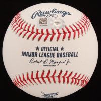 "Pete Alonso Signed 2019 Home Run Derby OML Baseball Inscribed ""19 HR Derby Champ"" (MLB Hologram) at PristineAuction.com"