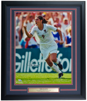 Mia Hamm Signed Team USA 22x27 Custom Framed Photo Display (Fanatics Hologram) at PristineAuction.com