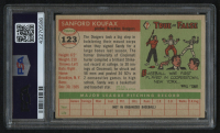1955 Topps #123 Sandy Koufax RC (PSA 3) at PristineAuction.com