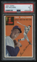 1954 Topps #1 Ted Williams (PSA 5.5) at PristineAuction.com