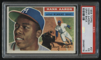 1956 Topps #31 Hank Aaron (PSA 5) at PristineAuction.com