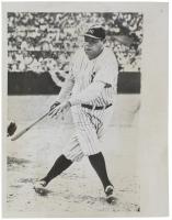 1943 Babe Ruth 6.5x8.5 Original International News Wire Photo (PSA LOA)