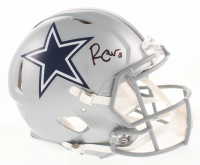 Randall Cobb Signed Dallas Cowboys Full-Size Authentic On-Field Speed Helmet (Beckett COA)