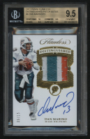 2017 Panini Flawless Distinguished Patch Autos #6 Dan Marino #06/15 (BGS 9.5) at PristineAuction.com