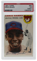 1954 Topps #94 Ernie Banks RC (PSA 3) (MC) at PristineAuction.com