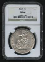1877 $1 Trade Silver Dollar (NGC MS 60)
